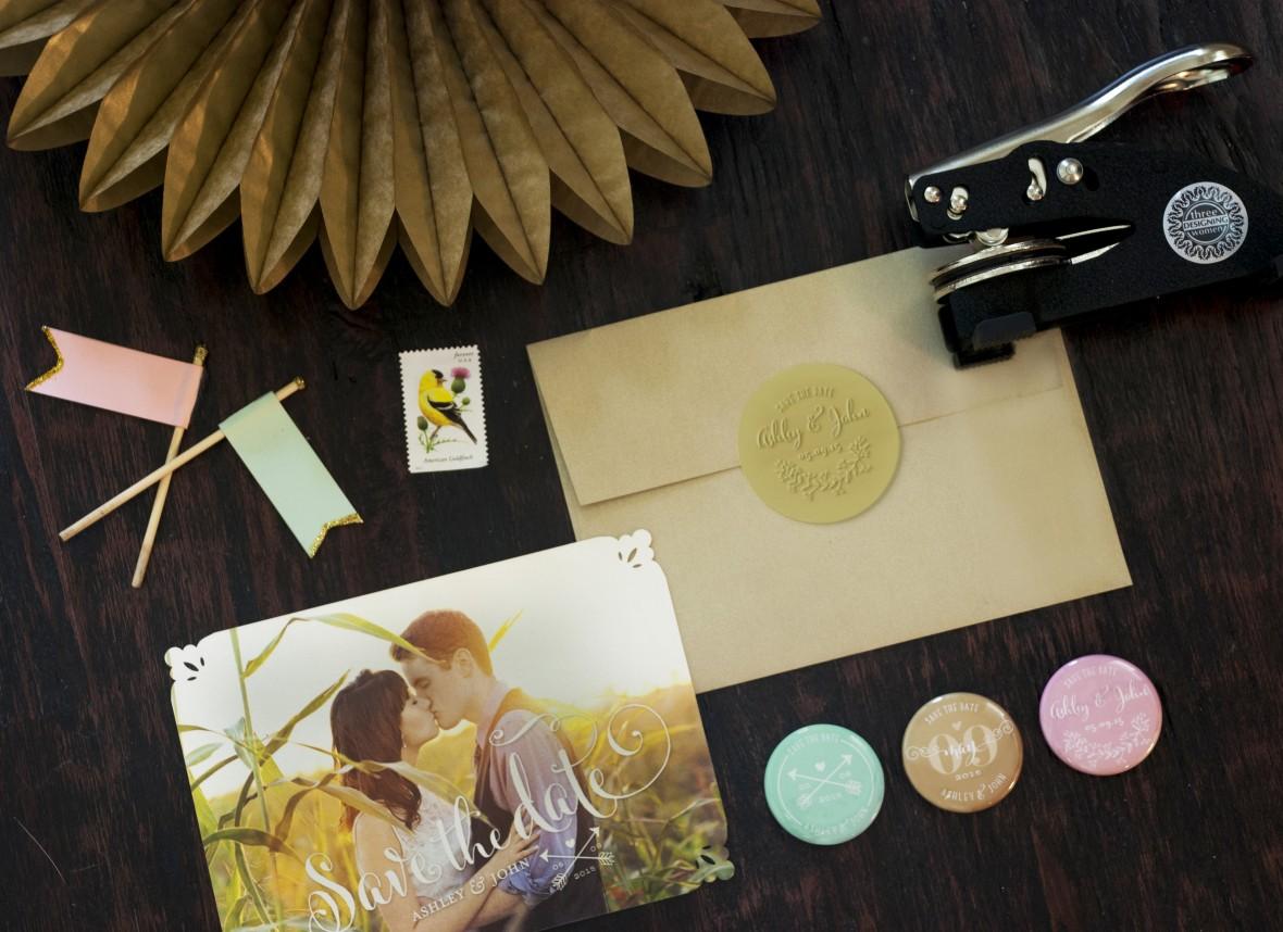Three Designing Women Stamp Kit Save the Date