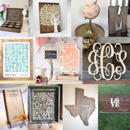 guest book alternatives from etsy