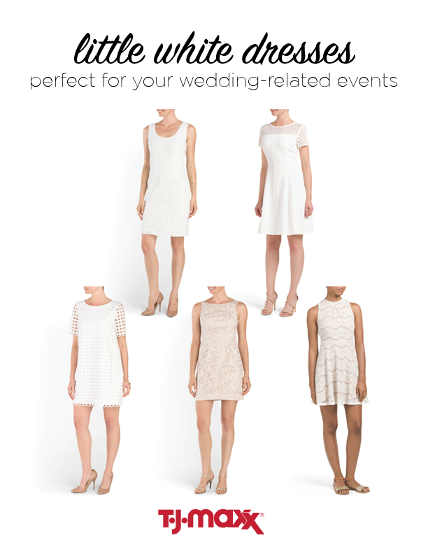 tjmaxx little white dresses