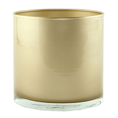 gold vase centerpiece