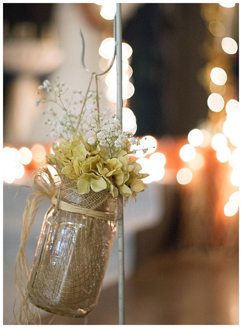 indoor wedding venue decor
