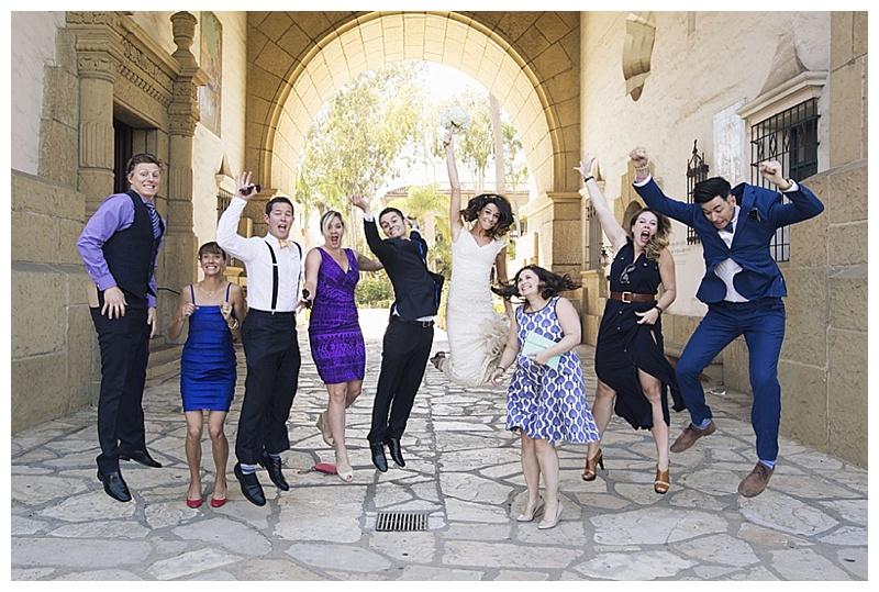 friend wedding photos