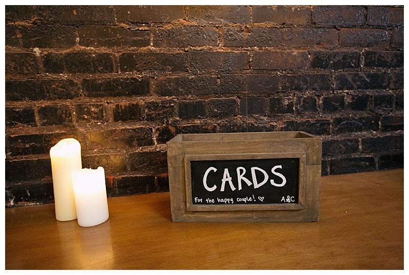 chic wedding reception decor