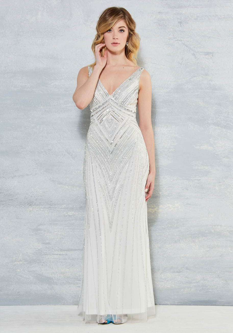 The new modcloth wedding collection the budget savvy bride glitz been an honor dress ombrellifo Image collections
