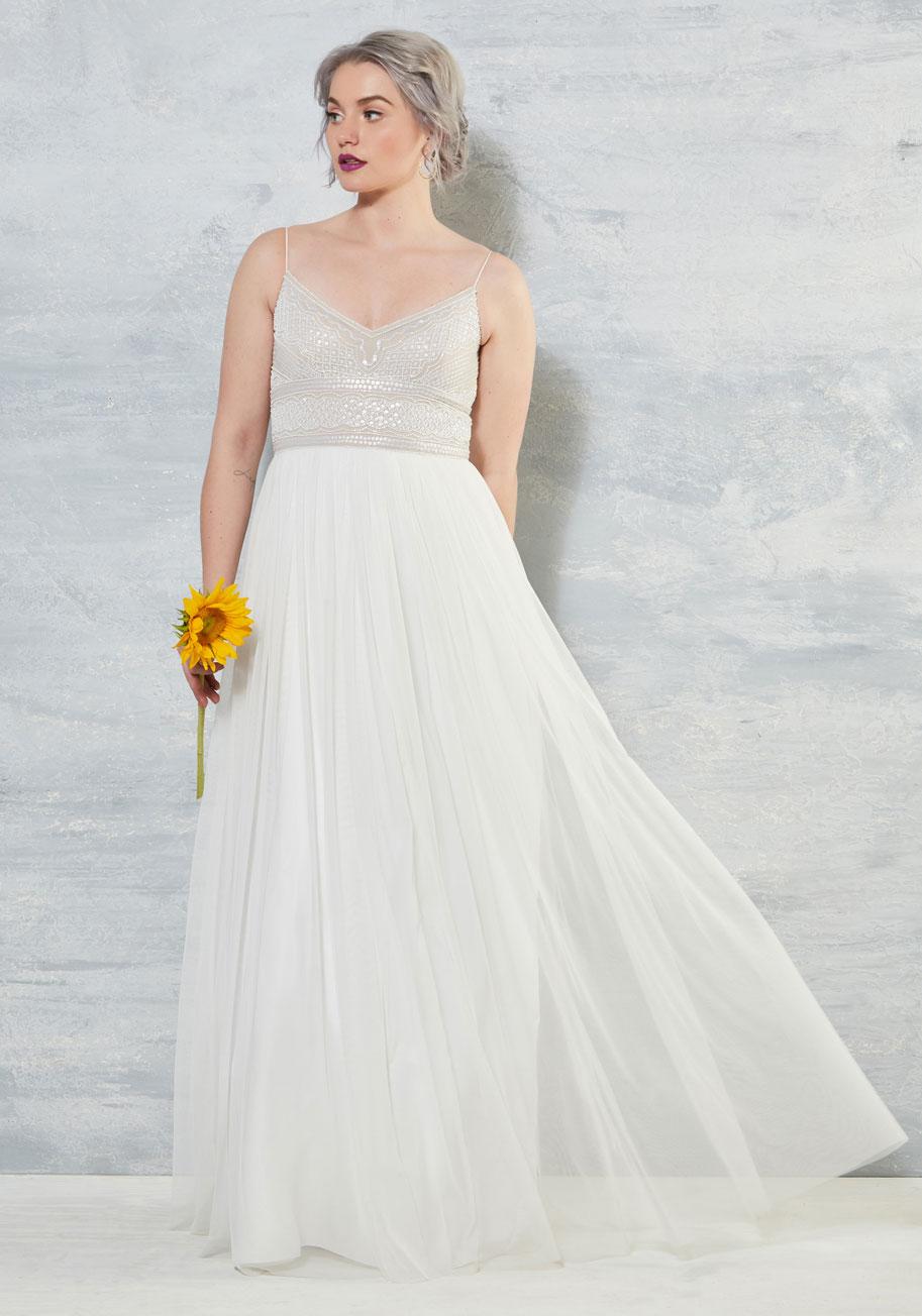 Shine Bride Like A Diamond Dress Modcloth Wedding