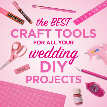 craft tools for your wedding DIY projects