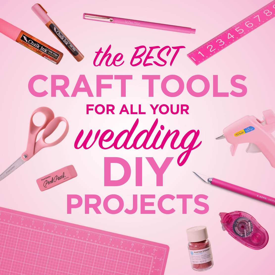 Tools For Diy Projects The Craft Tools Youll Need For Your Diy Wedding The Budget