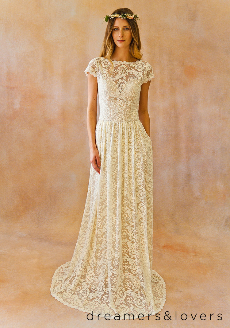 Dreamers and Lovers - Etsy Wedding Dress