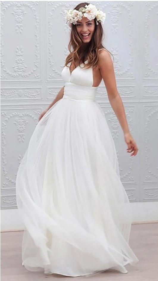 Mediterranean Design - Etsy Wedding Dress