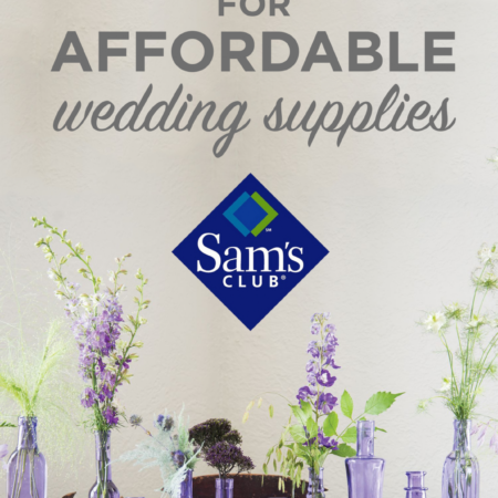 Sam's Club has all the Wedding Supplies you'll need for your DIY wedding!