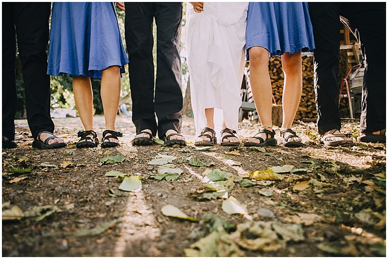 wedding chacos
