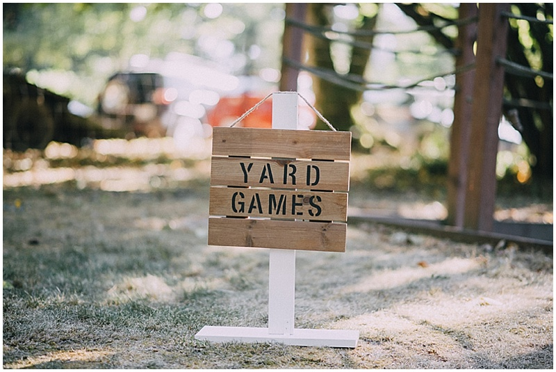 wedding outdoor games