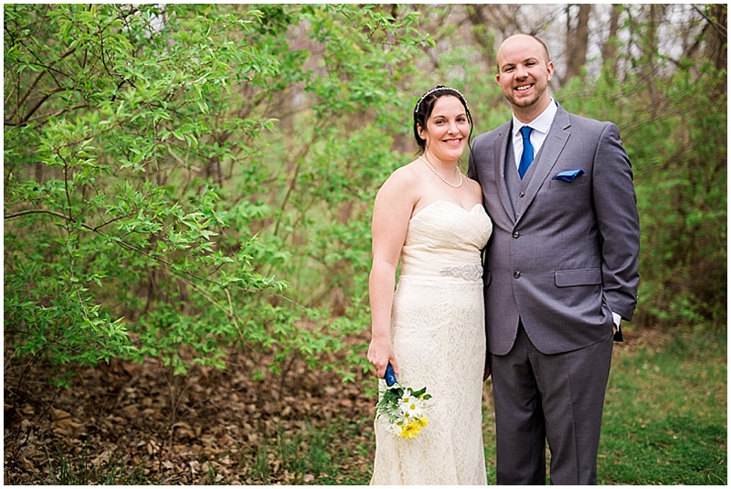 couple outdoor wedding photos