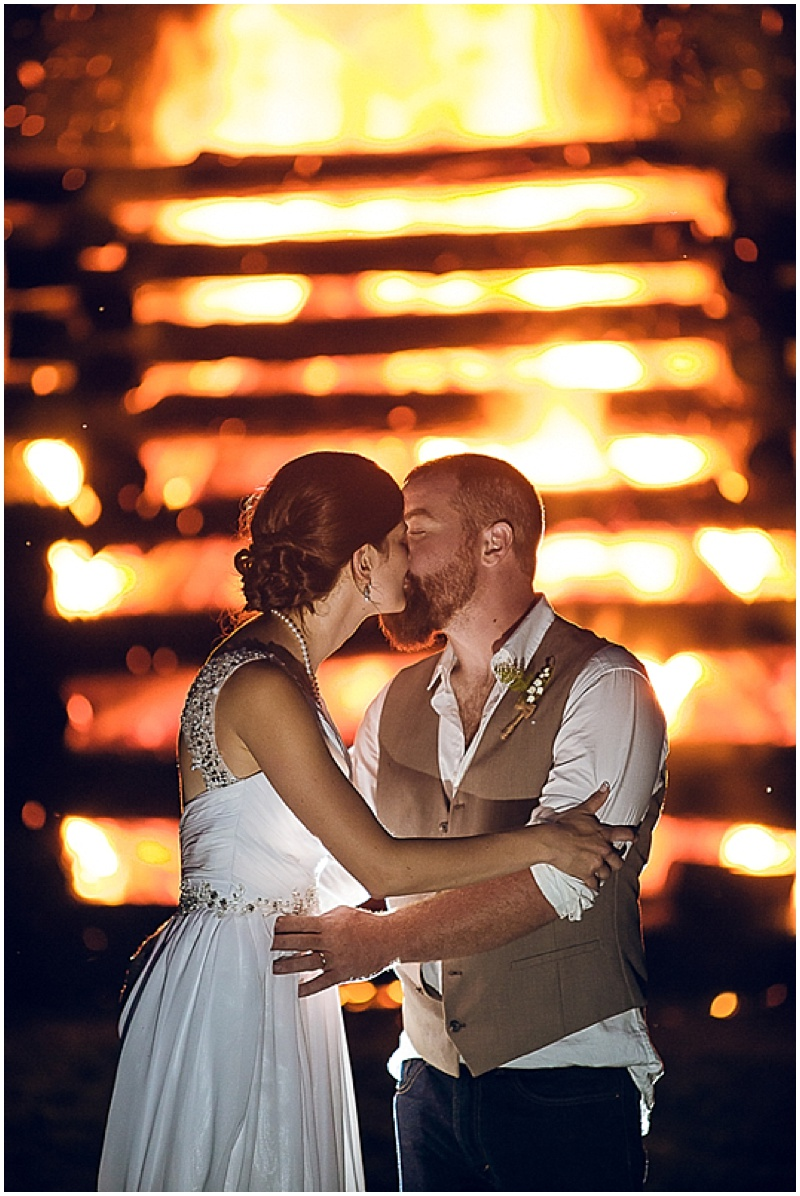 wedding bonfire