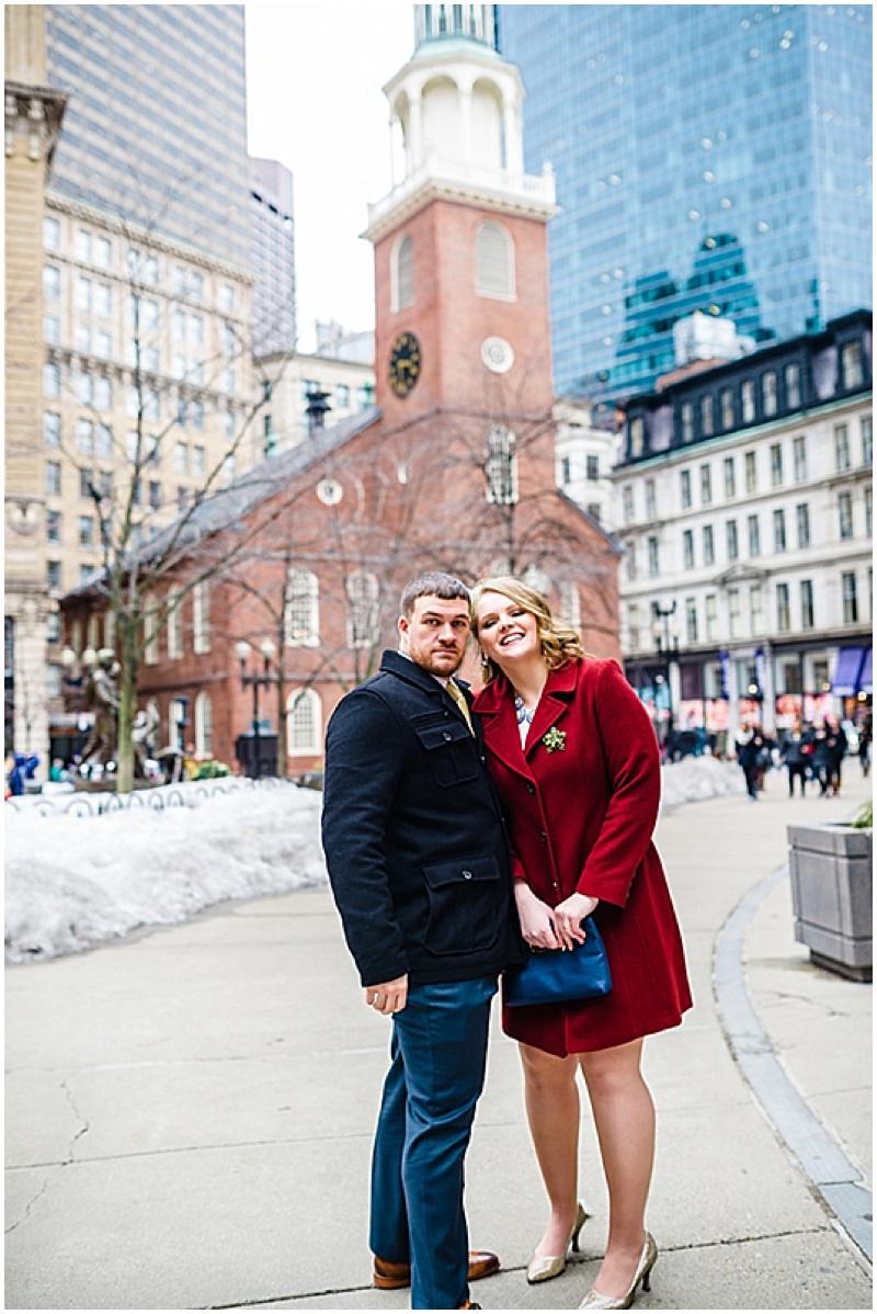 boston bride and groom photos