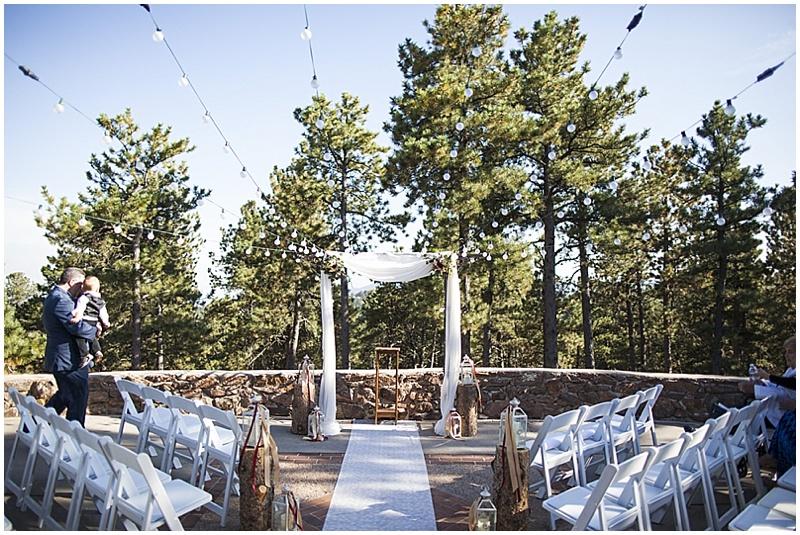 Elegant Outdoor Colorado Wedding