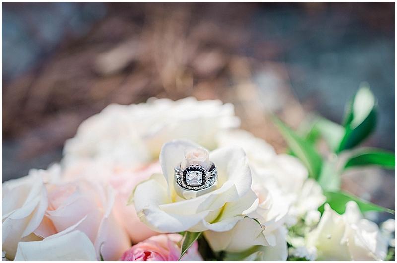 cushion cut engagement ring