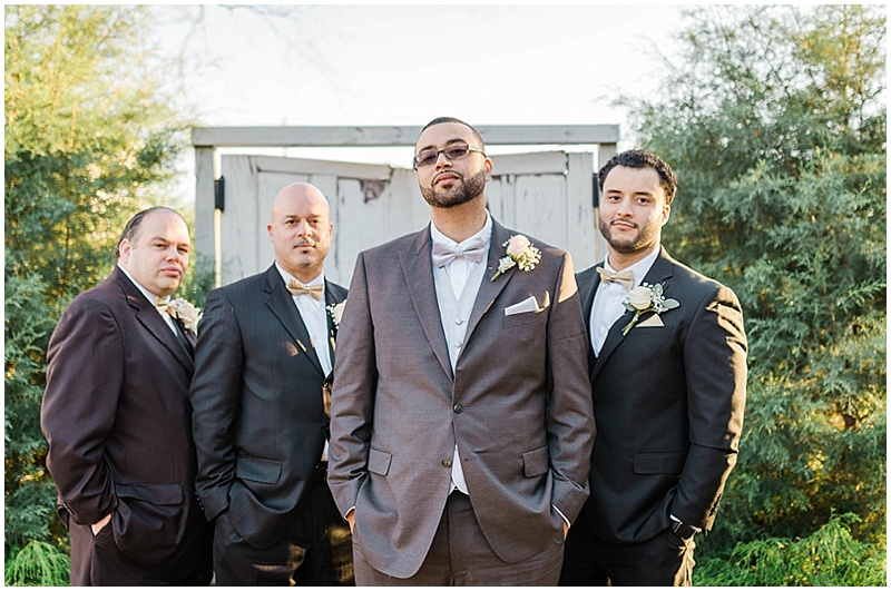 charcoal gray groom attire