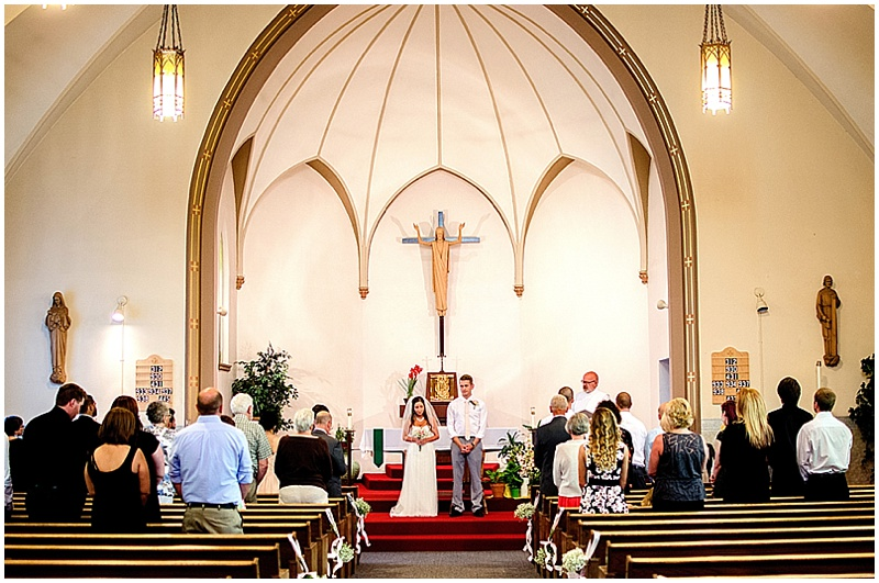 Intimate Church Wedding With Dessert Reception The Budget Savvy Bride