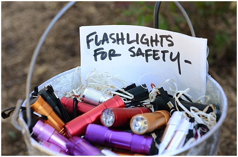 wedding flashlight