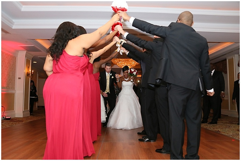 bride and groom reception photos