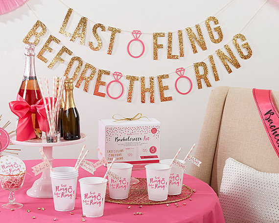 bachelorette party decor