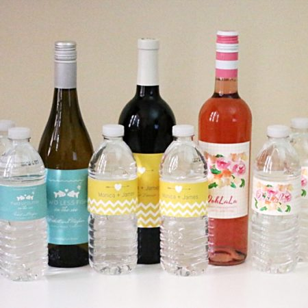 bottle your brand - custom wedding labels