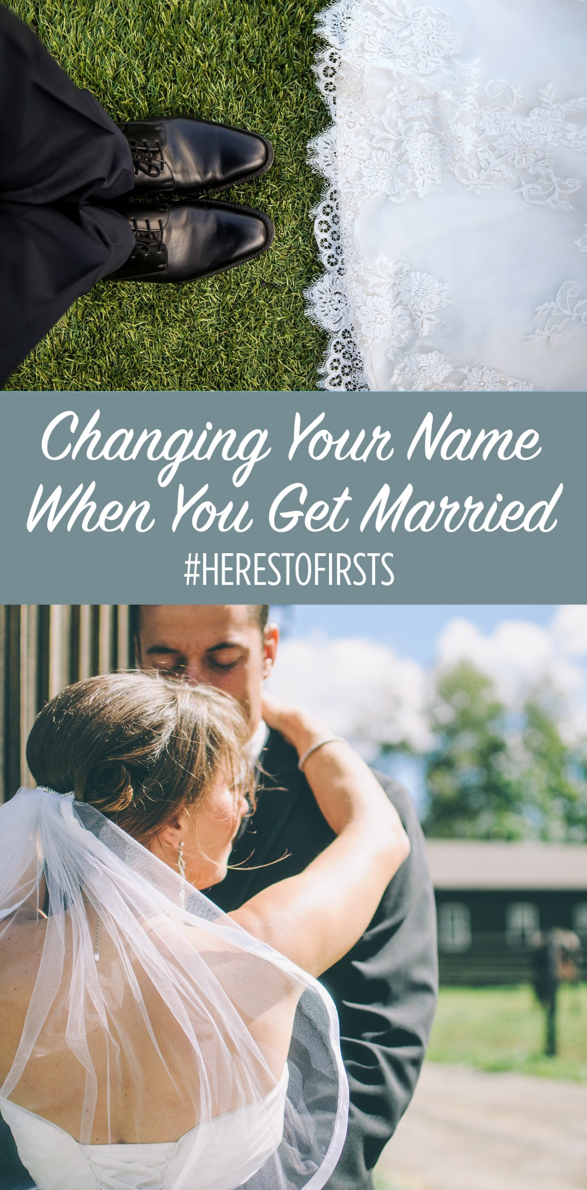 here's to firsts: changing your name when you get married