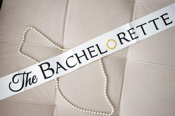 the bachelorette sash