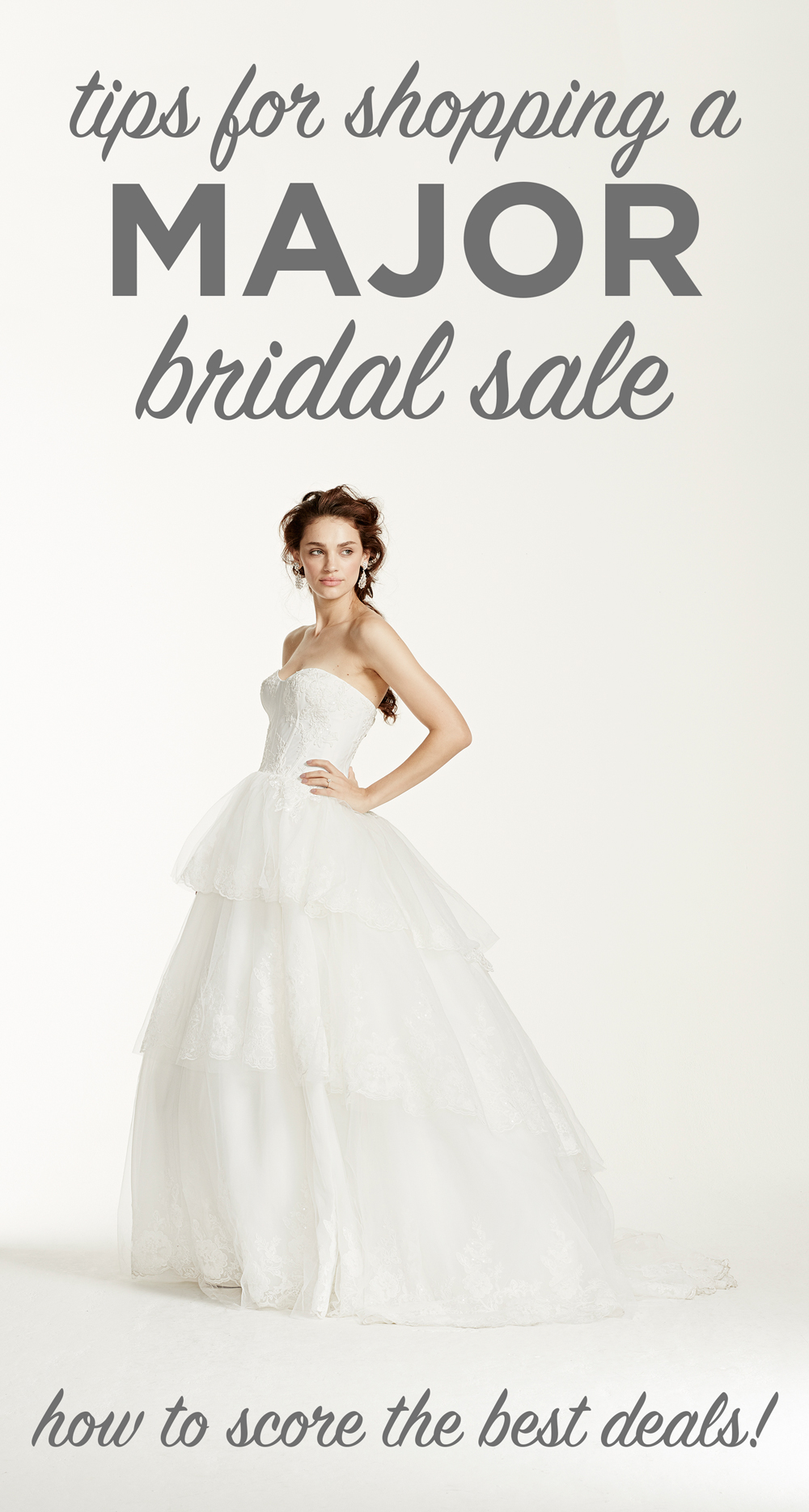 Tips for Shopping a Major Bridal Sale
