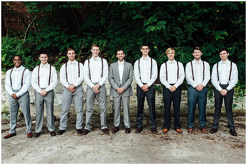 suspenders wedding attire