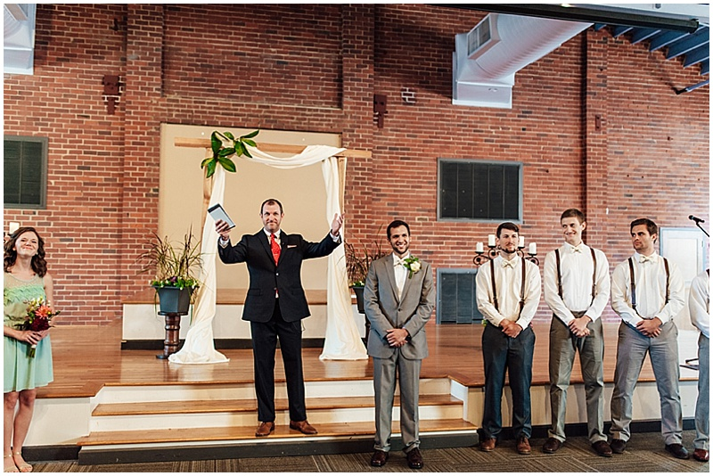 modern church wedding ceremony