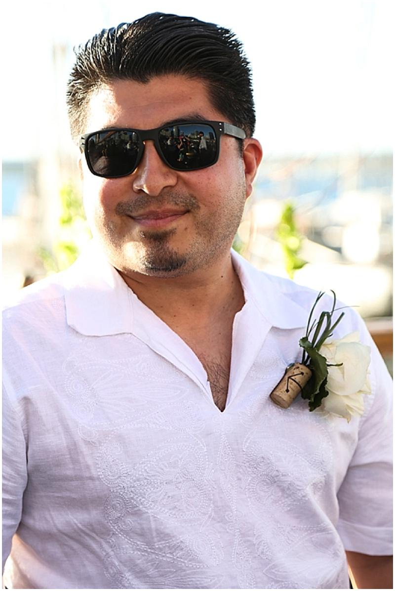 casual groom attire
