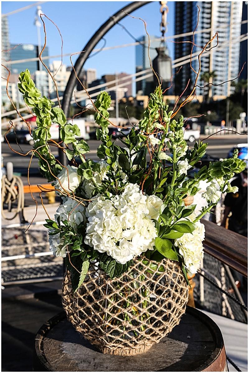 nautical wedding decor