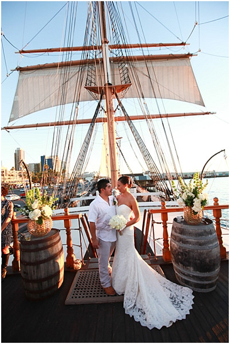 Budget Savvy Wedding on a Sailing Ship_091