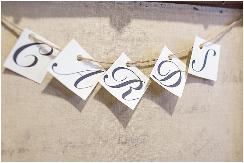 card signs