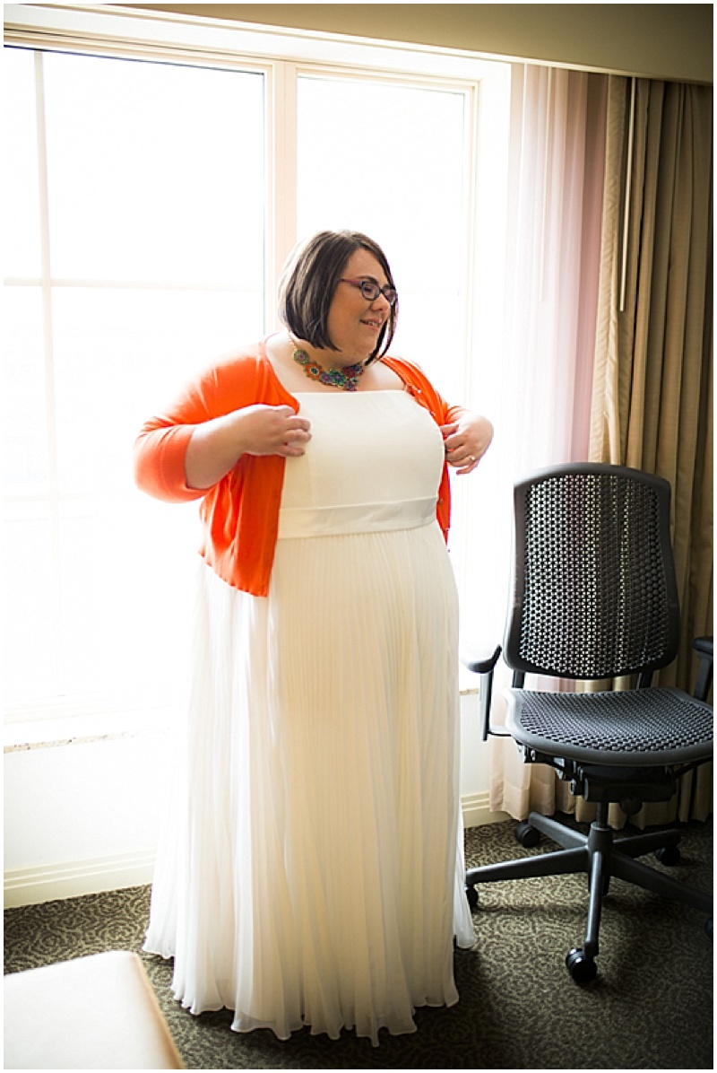 wedding dress with cardigan