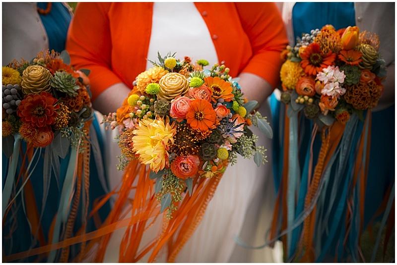 Colorful October Wedding | The Budget Savvy Bride