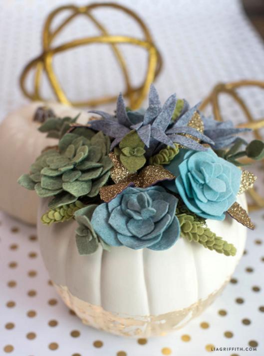 Lia Griffith - Crepe Paper Flowers | Crepe Paper Product Line | Felt Succulent