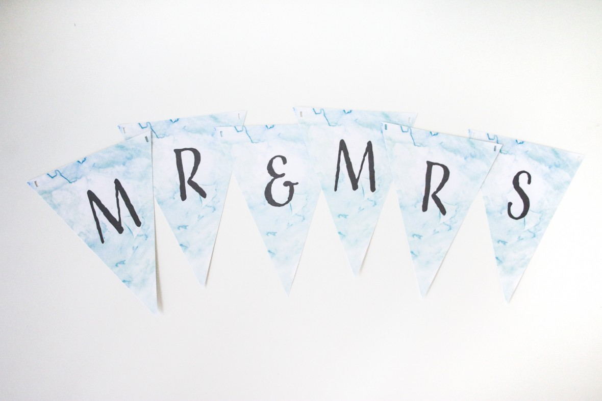 free printable wedding banner-5