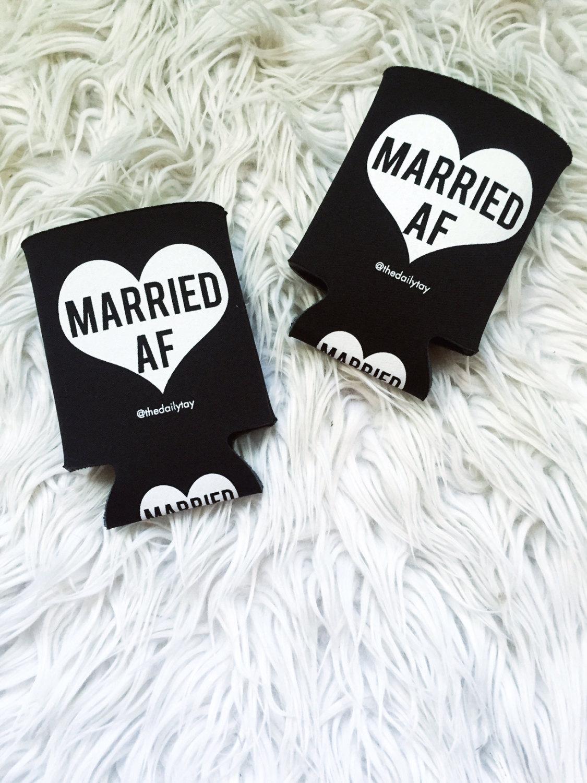 married AF koozies