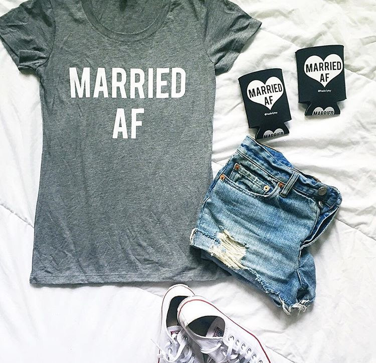 Married AF tshirt