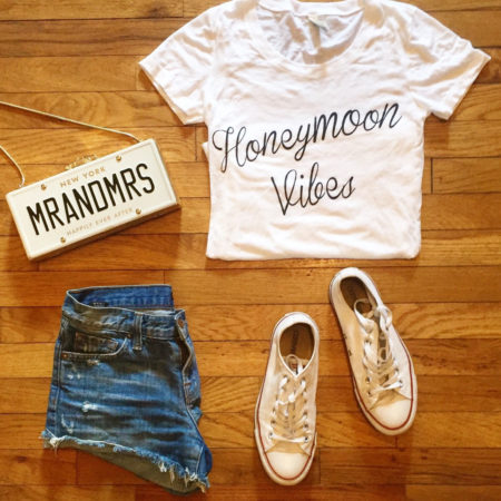 honeymoon vibes tshirt
