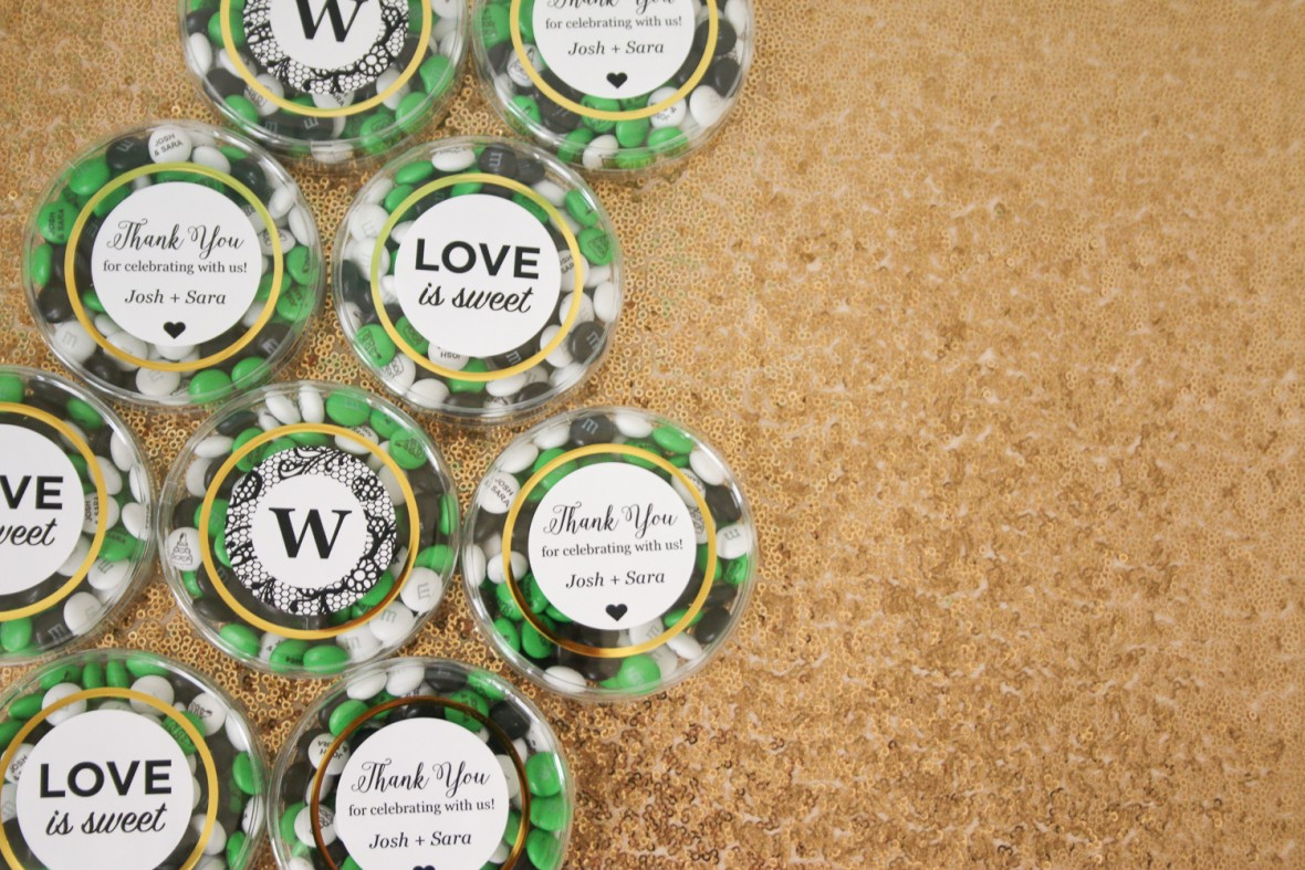 My M&M's Simple Wedding Favors