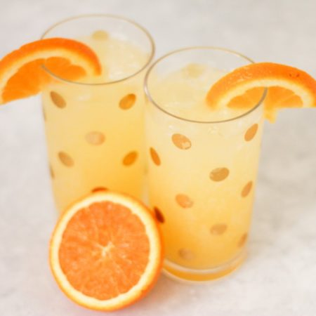 Savvy Signature Sips | Cocktail Recipe | Skinny Girl Tangerine Vodka, Soda Water, and a Splash of Orange Juice!