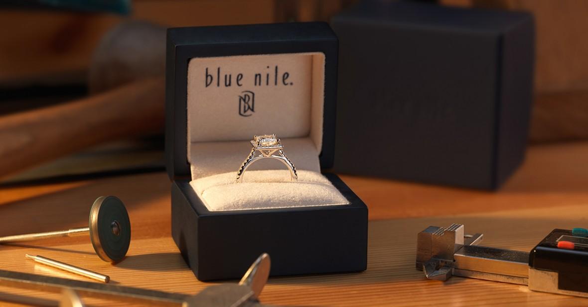 blue nile Budget Savvy Engagement Ring Shopping Tips