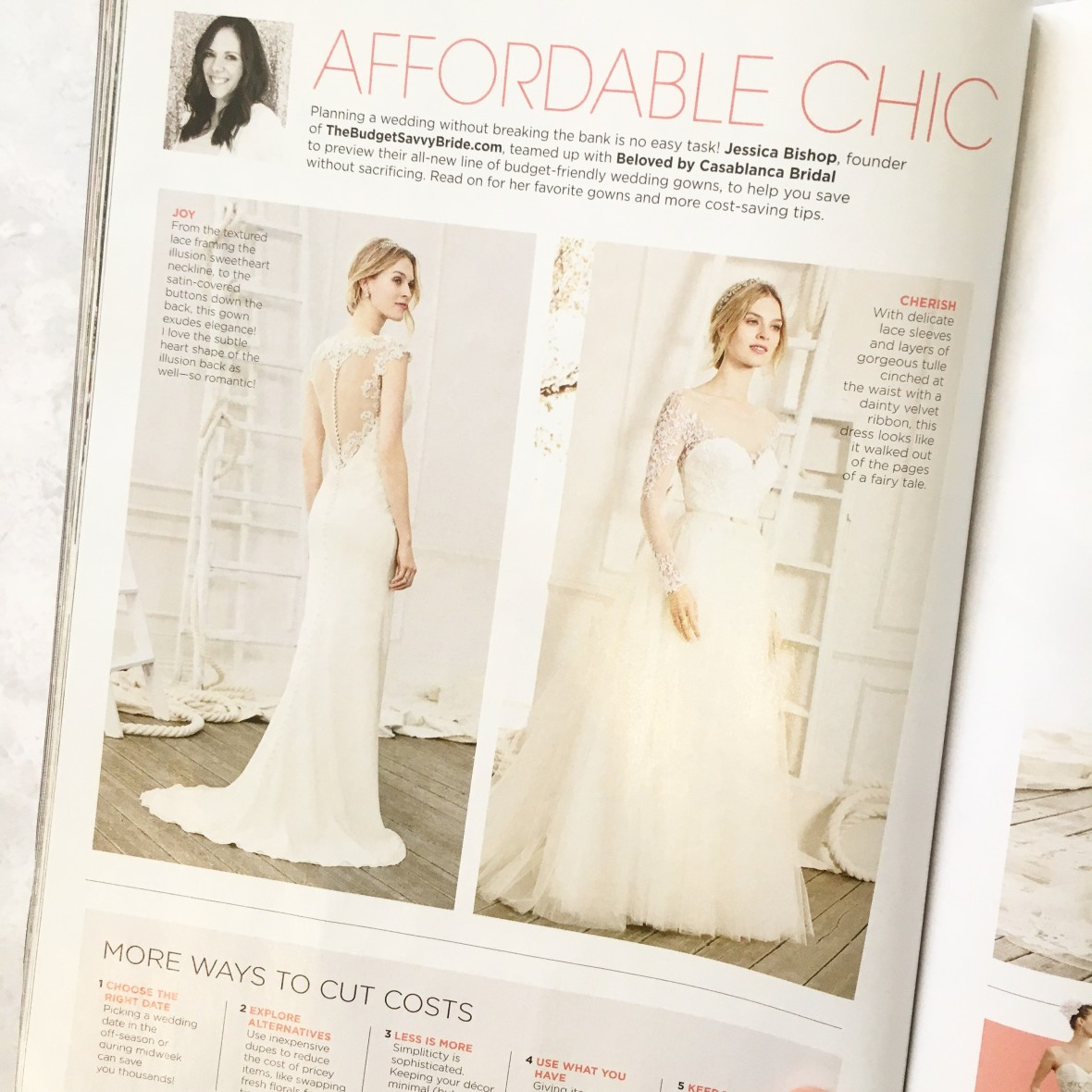 The Budget Savvy Bride and Beloved by Casablanca
