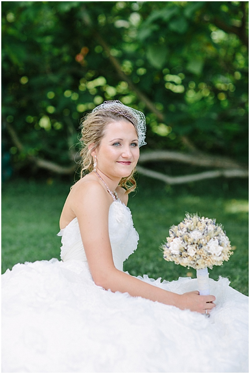 bridal outdoor photos