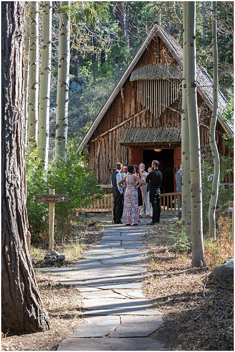 Chapel Wedding Ceremony Lake Tahoe