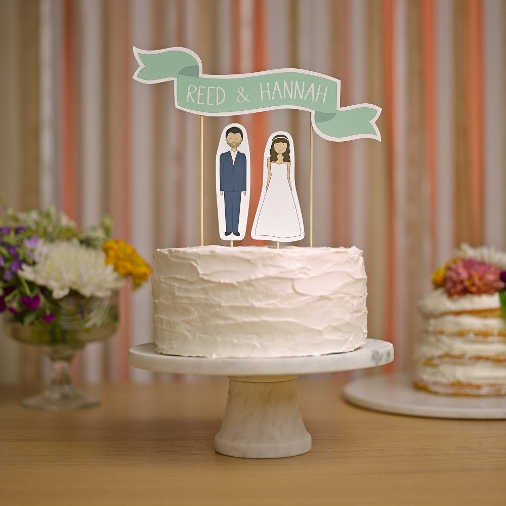 ReadyGo wedding cake topper